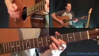 Old Man Guitar Lesson - Neil Young - Acoustic
