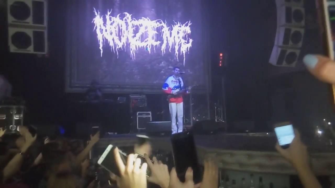 Зал перепел Noize MC - Грабли, Томск, Театро - YouTube