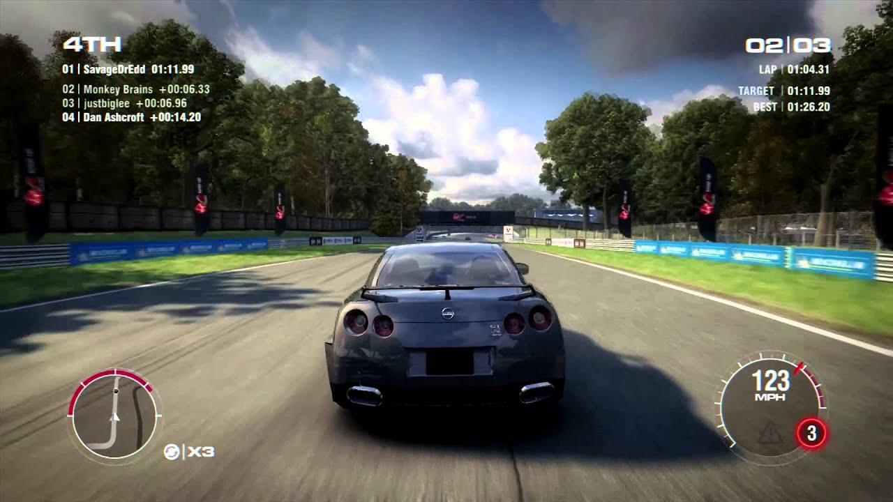 Grid 2 Brands Hatch Nissan Gt R Spec V Online