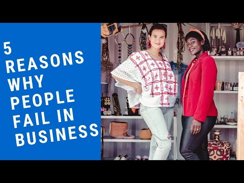 Chat with Rebecca: REASONS WHY MOST PEOPLE FAIL IN BUSINESS