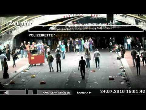 Offizielle Dokumentation über die Zeit vor 16:40 - Loveparade Duisburg 2010