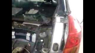 Ремонт Subaru Legacy (удар в зад) часть 2