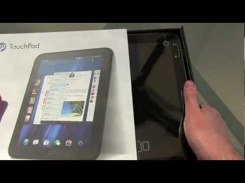 HP TouchPad Unboxing!