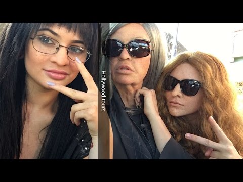 KYLIE, KENDALL AND KHLOE KARDASHIAN UNDERCOVER ON SNAPCHAT (FULL)