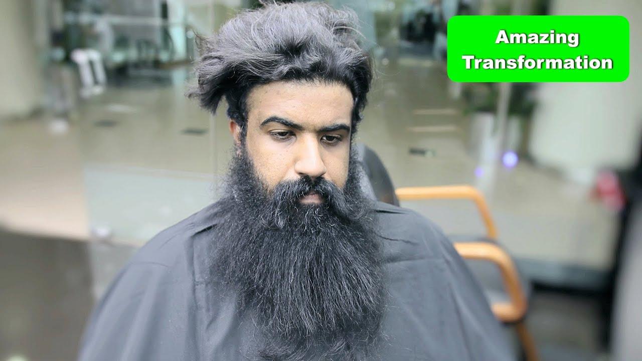 LIKE A BOSS ★ Amazing Hair Transformation Video! Beard & Hairstyle ★ DIY