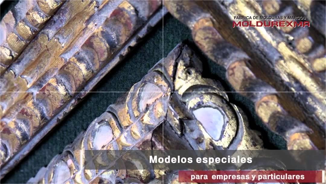 Fábrica de Marcos y Molduras Moldurexma - YouTube