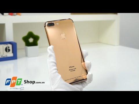 FPT Shop - Khui Hộp Và Trên Tay Nhanh IPhone 7 Plus Mạ Vàng: Sáng Chói - Rực Rỡ