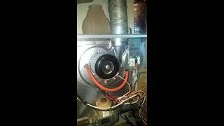 Stuck running inducer fan