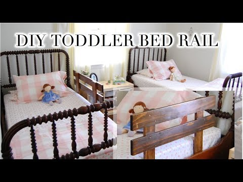 DIY TODDLER BED RAIL 💛
