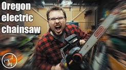 Oregon electric chainsaw  CS1500 - quick overview.