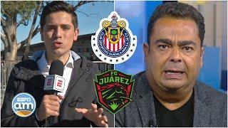 FIEBRE DE CHIVAS Se agotan los boletos del Chivas vs Juárez y no le gusta a García Toraño | ESPN AM