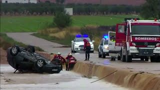 Сильнейший за последние сто лет шторм обрушился на Испанию.