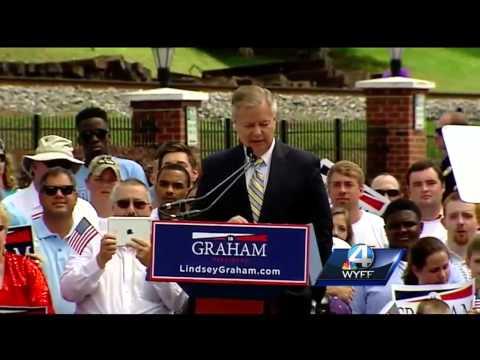 Sen. Lindsey Graham announce presidential bid