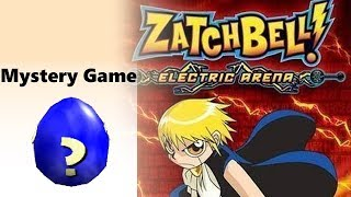 Mystery Game - Zatch Bell: Electric Arena
