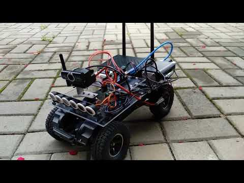Autonomous Vibration Control of Bridge Using Husky UGV by