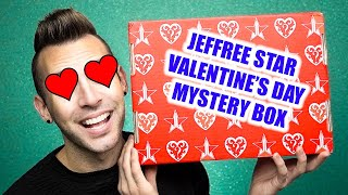 Jeffree Star VALENTINE'S DAY MYSTERY BOX Unboxing + GIVEAWAY