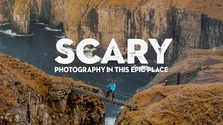 LANDSCAPE PHOTOGRAPHY can be SCARY! (especially in this location)