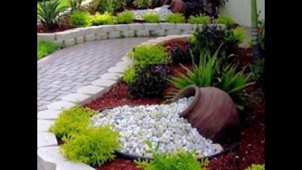 Creativas ideas para decorar tu jard n youtube for Ideas decoracion jardin