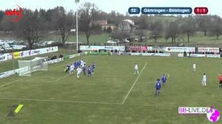 FC Gärtringen vs. SV Böblingen: Die Zusammenfassung (22.03.2015)