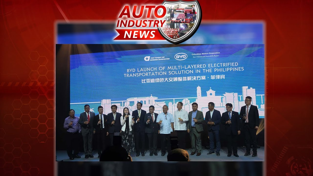 Motoring Today | Industry News: BYD GLOBAL ELECTRIFIED TRANSPORTATION  SOLUTION LAUNCH