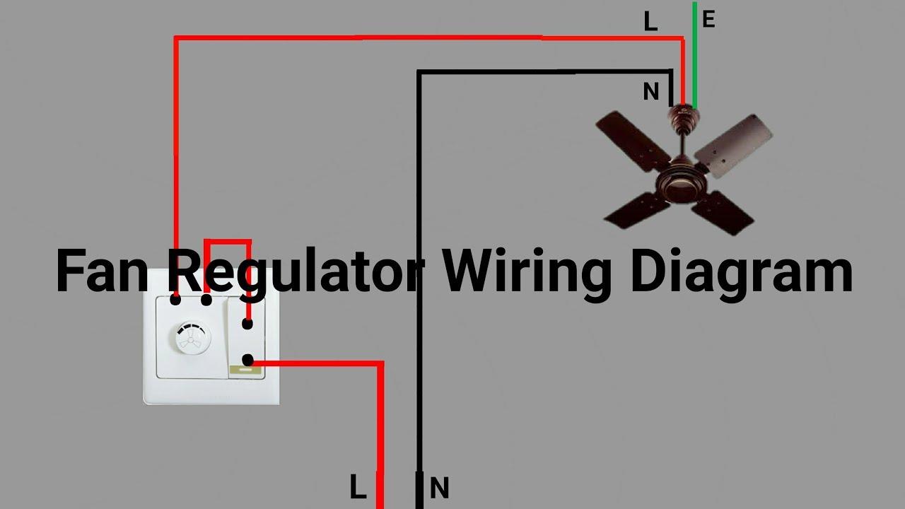 medium resolution of fan regulator wiring diagram youtube ceiling fan pull switch diagram ceiling fan regulator wiring diagram
