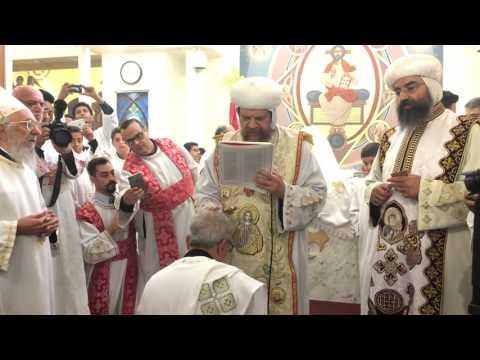 Prayer over Fr. Mauritius Mikhail