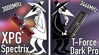 Memory Wars T-Force Dark Pro VS XPG Spectrix!