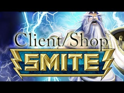 Smite - Game Client (including Shop)