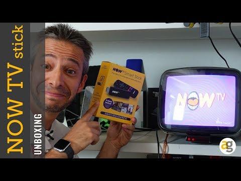 La mia TV a TUBO CATODICO diventa SMART. UNBOXING NowTV Smart Stick