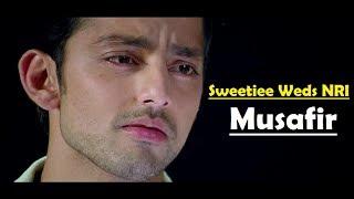 Musafir Atif Aslam Sweetiee Weds Nri - Himansh Kohli, Zoya Afroz - Palash Muchhal -Lyrics Video Song