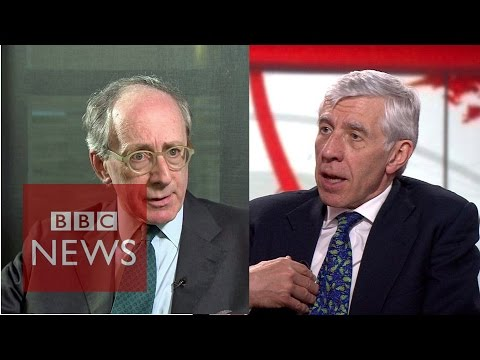 'Cash for access': Sir Malcolm Rifkind & Jack Straw deny wrongdoing - BBC News