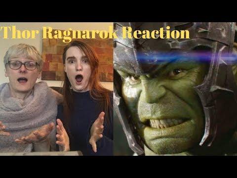 Ragnarok The House! Thor Ragnarok REACTION!! MCU Film Reactions