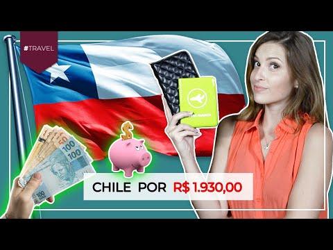 Quanto custa viajar para o Chile | Fui para o CHILE por MENOS de 2 MIL REAIS!!