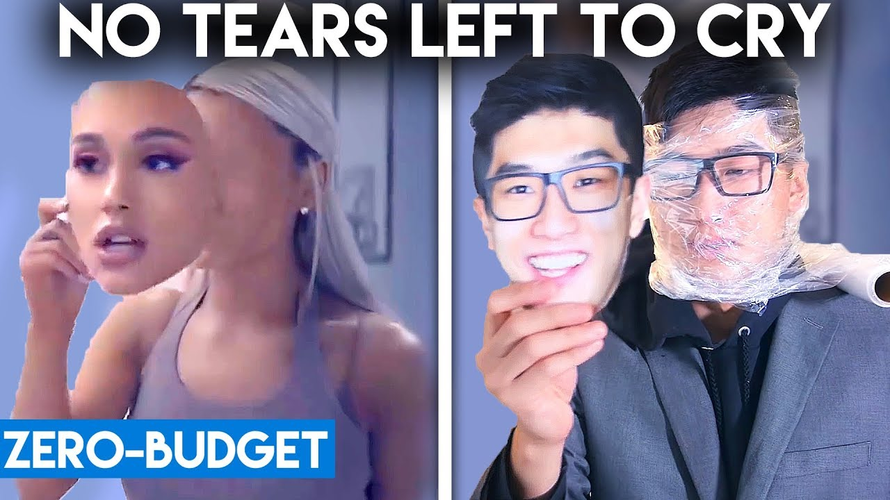Download ARIANA GRANDE WITH ZERO BUDGET! (No Tears Left To Cry PARODY)