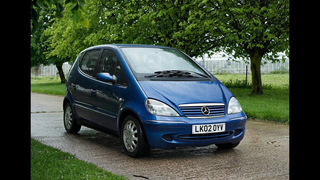 2002 mercedes a160 elegance video review engine youtube. Black Bedroom Furniture Sets. Home Design Ideas