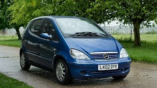 2002 mercedes a160 elegance video review engine