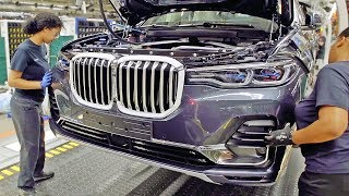 BMW X7 – PRODUCTION LINE – German Car Factory in USA