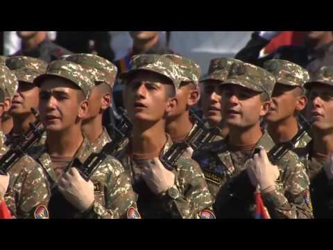 Военный Парад в Ереване 2016 Полная Версия Посвященный 25 Летию Независимости Армении