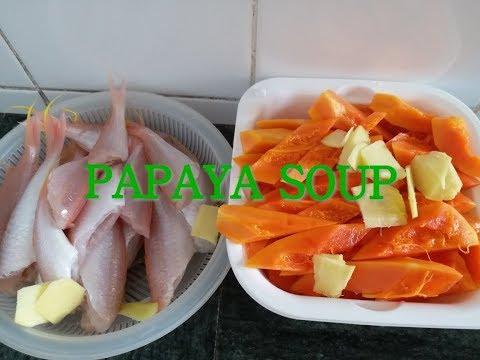 PAPAYA Soup| Chinese Recipe #1