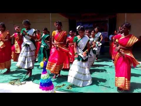 Culture Songs Dance || Gallu Gallu, Bonalu, telangana formation Day Song ||By KGBV RAMAYAM PET