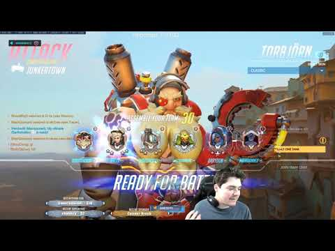 Samito Smurfs w/ Torbjorn in PLAT! Overwatch Unranked to GM Flex thumbnail