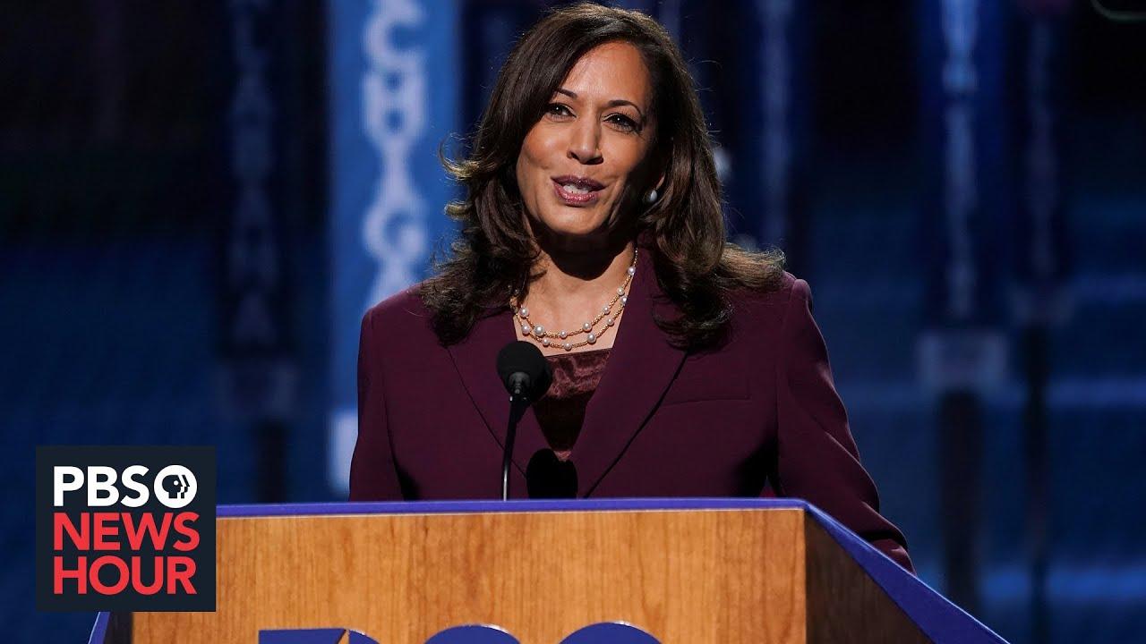 Watch Kamala Harris Full Speech At The 2020 Democratic National Convention 2020 Dnc Night 3 Youtube
