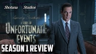 A Series of Unfortunate Events (Netflix Series)   Season 1 Review (Spoiler Free)