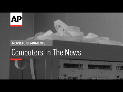 Computers in the News | Movietone Moments | 10 June 16