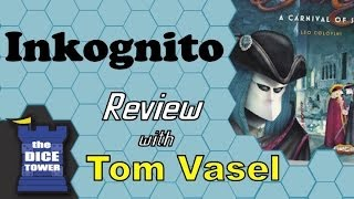 Inkognito Review - with Tom Vasel