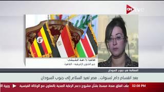 دور مصر الإقليمي في إعلان وثيقة القاهرة لتوحيد الحركة الشعبية في السودان - د. هبة البشبيشي