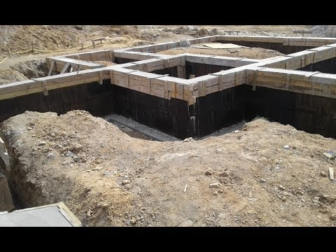 Блочный фундамент (фундамент из ФБС). Тонкости строительства