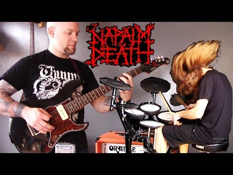NAPALM DEATH - Oh So Pseudo Collab Cover -  Simon Smith & Bobnar Simon mp3
