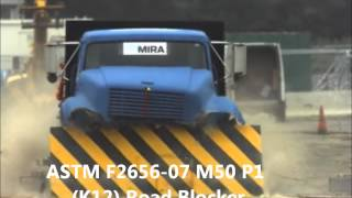 K12 Road Blocker crash tested to ASTM F2656-07 Thumbnail