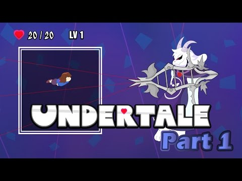 Undertale Remastered - Asriel Dreemurr Boss - Part 1
